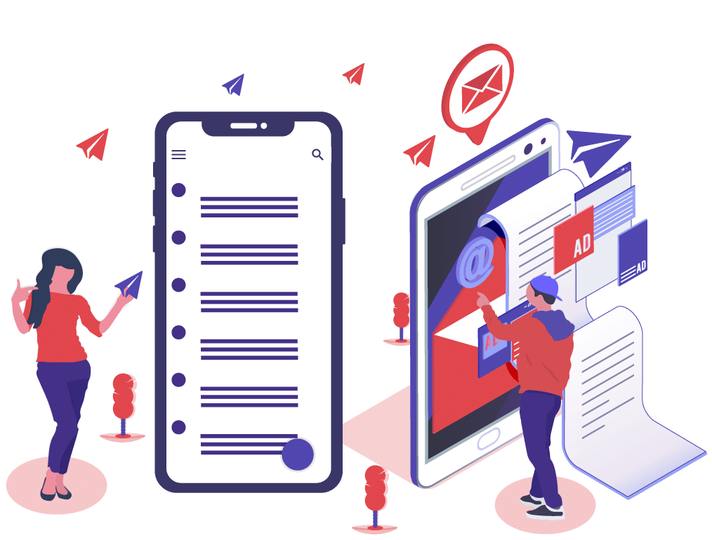email, marketing, contenido digital, publico ideal