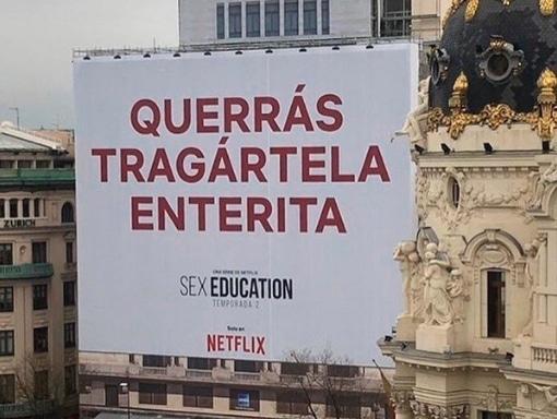 NETFLIX SORPRENDE CON SU NUEVA CAMPAÑA PARA SEX EDUCATION