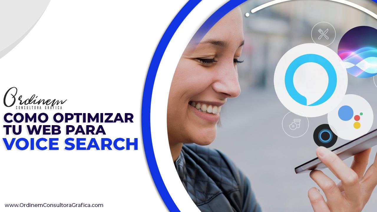 Web, Voice Search, web, optimizacion, optimizar, optimizado